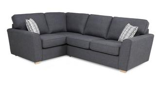 Vision Right Hand Facing 2 Seater Corner Sofa