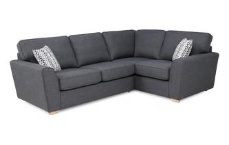 Left Hand Facing 2 Seater Corner Sofabed Revive