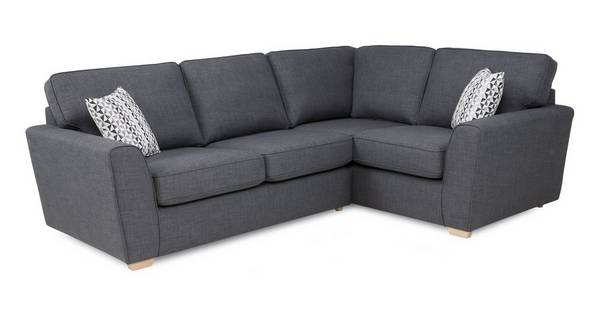 Vision Left Hand Facing 2 Seater Corner Sofabed