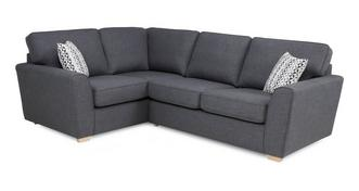 Vision Right Hand Facing 2 Seater Corner Sofabed