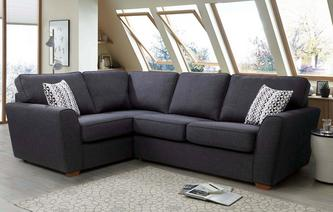 Vision Right Hand Facing 2 Seater Corner Sofabed Revive