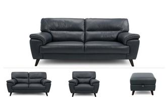 3 Seater, 2 Seater, Chair & Footstool