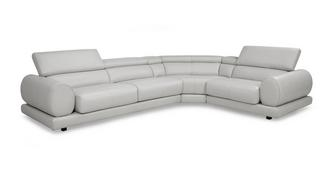 Vittorio Option H Left Hand Facing 2 Corner 1 Sofa