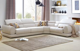 Vittorio Option I Right Hand Facing 1 Corner 2 Sofa New Club