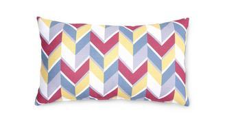 Vivid Pattern Bolster Cushion