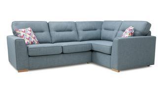 Vivid Left Hand Facing 2 Seater Corner Sofa
