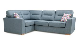 Vivid Right Hand Facing 2 Seater Corner Sofa