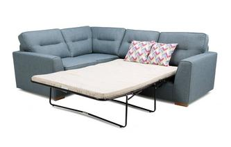 Vivid Right Hand Facing 2 Seater Corner Sofabed Revive
