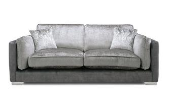 Formal Back 3 Seater Sofa