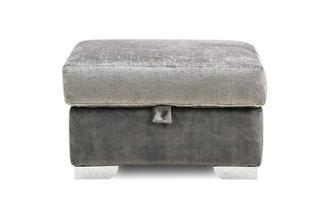 Plain Storage Footstool