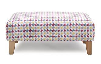 Banquette Footstool Vixx Pattern