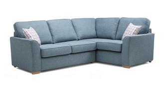 Vixx Left Hand Facing 2 Seater Corner Sofabed