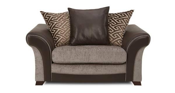 Waltz Pillow Back Cuddler Sofa