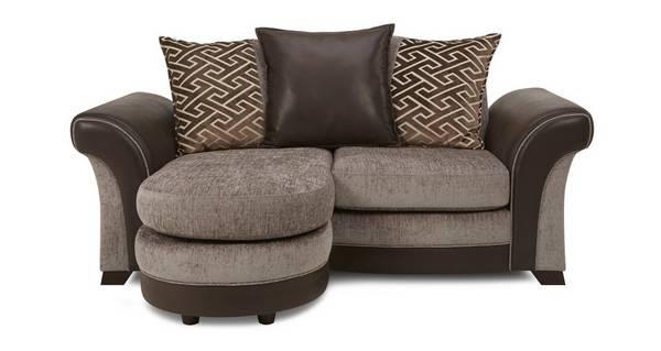 Waltz 2 Seater Pillow Back Lounger