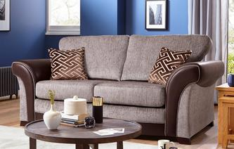 Waltz Large 2 Seater Formal Back Deluxe Sofa Bed Eternity