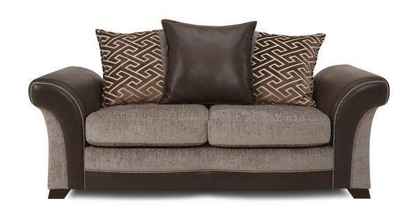 Waltz Large 2 Seater Pillow Back Deluxe Sofa Bed
