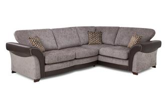 Left Hand Facing 3 Seater Formal Back Corner Sofa Eternity