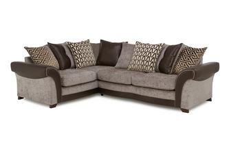Right Hand Facing 3 Seater Pillow Back Corner Sofa Eternity