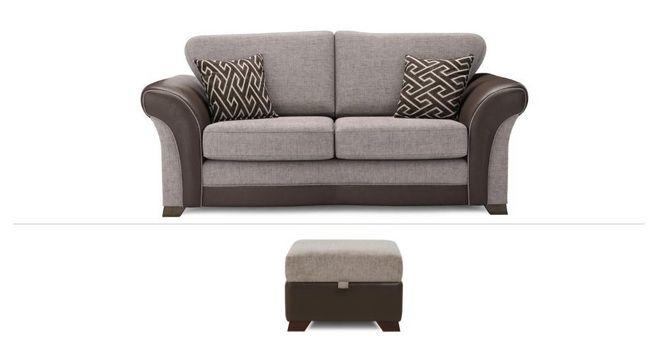 Wondrous Waltz Clearance 2 Seater Sofa Bed Storage Footstool Uwap Interior Chair Design Uwaporg