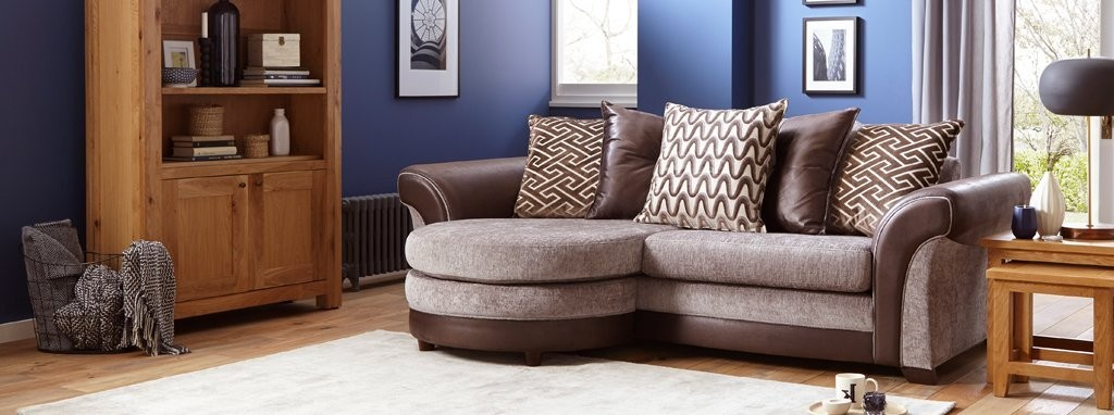 Waltz Clearance - Waltz Clearance 2 Seater Sofa Bed & Storage Footstool Eternity DFS