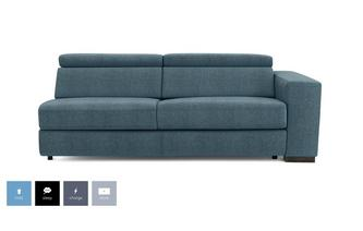 Right Hand Facing Arm 2 Seat Sofa Bed Unit