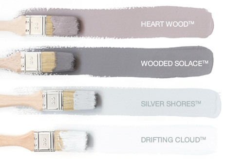 Dulux Paint Colour Swatches