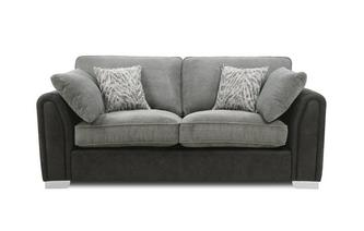 Formal Back 3 Seater Supreme Sofa Bed