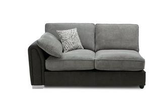 Formal Back Left Hand Facing Arm 3 Seat Supreme Sofa Bed Unit