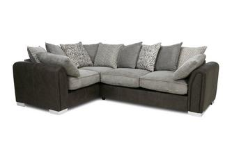 Pillow Back Right Hand Facing 3 Seater Corner Sofa