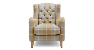 Warwick Plaid Accent Chair