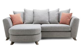 Pillow Back 4 Seater Lounger