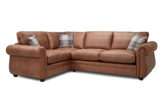 Formal Back Right Hand Facing 3 Seater Sofa Bed Corner Sofa