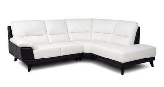 Whitley: Option A Left Hand Facing Arm 2 Piece Corner Sofa