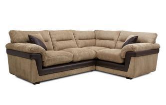 Left Hand Facing Arm 2 Piece Corner Sofa