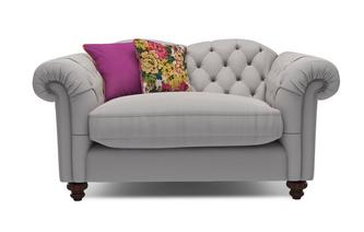 Cotton Cuddler Sofa Windsor Cotton