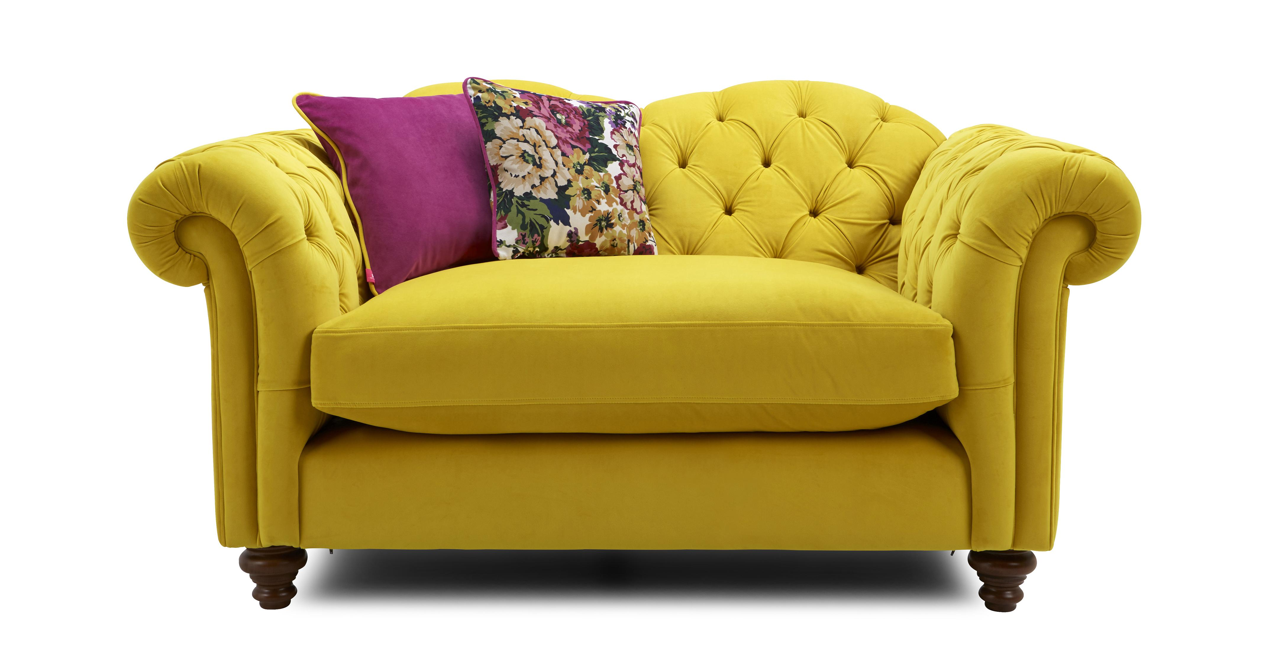 Windsor Velvet Cuddler Sofa Windsor Velvet Dfs Ireland