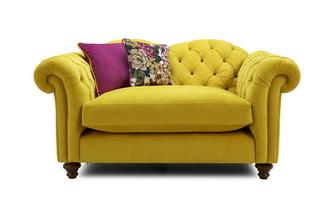 Windsor Velvet Cuddler Sofa Windsor Velvet