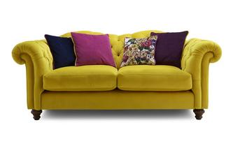 Velvet 3 Seater Sofa Windsor Velvet