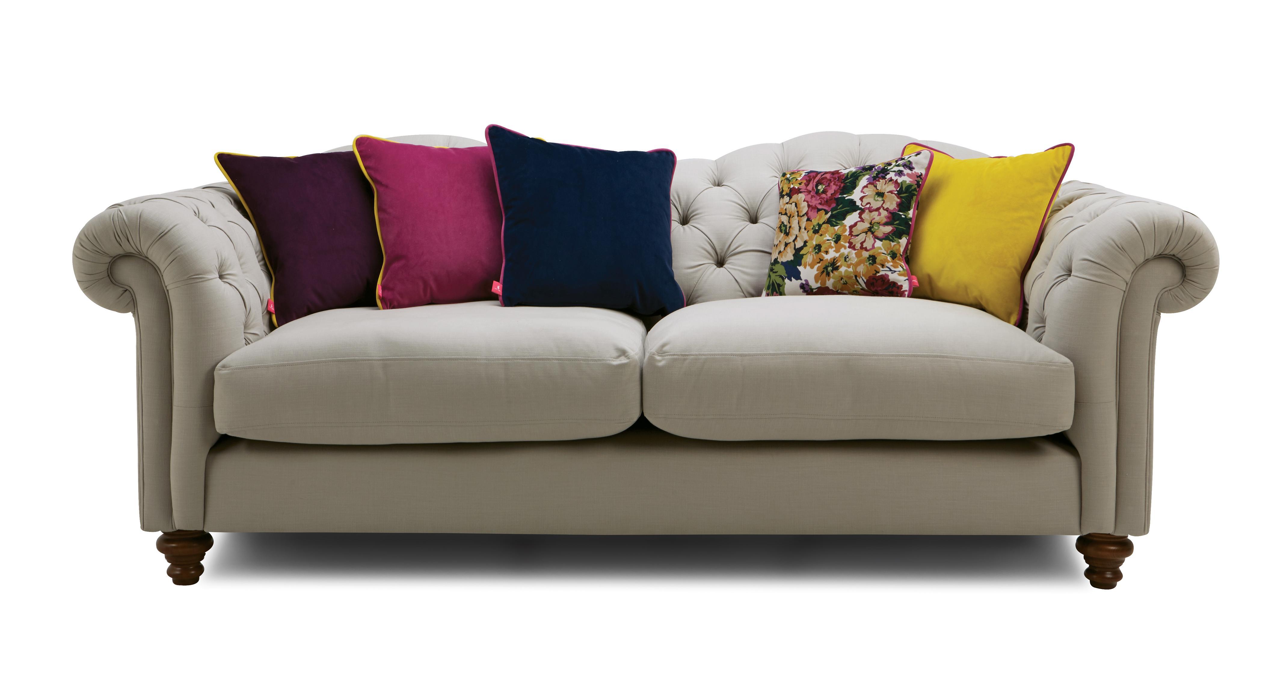 windsor cotton 4 seater sofa windsor cotton dfs. Black Bedroom Furniture Sets. Home Design Ideas