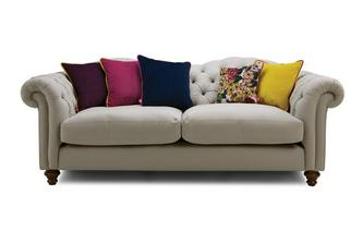 Cotton 4 Seater Sofa Windsor Cotton