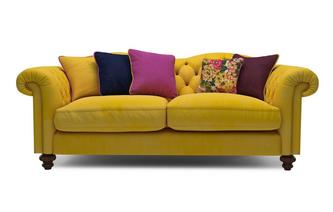 Velvet 4 Seater Sofa Windsor Velvet