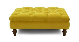 Windsor Velvet Footstool