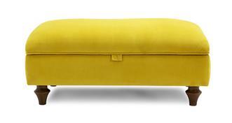 Windsor Velvet Storage Footstool
