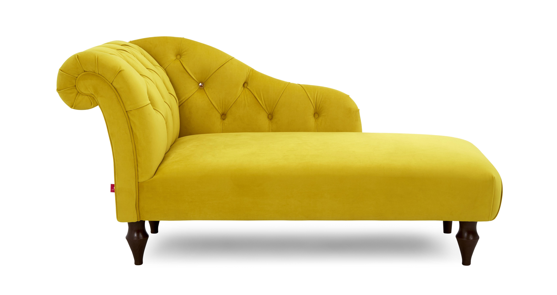Windsor Bed Left Hand Facing Chaise Longue Windsor Velvet
