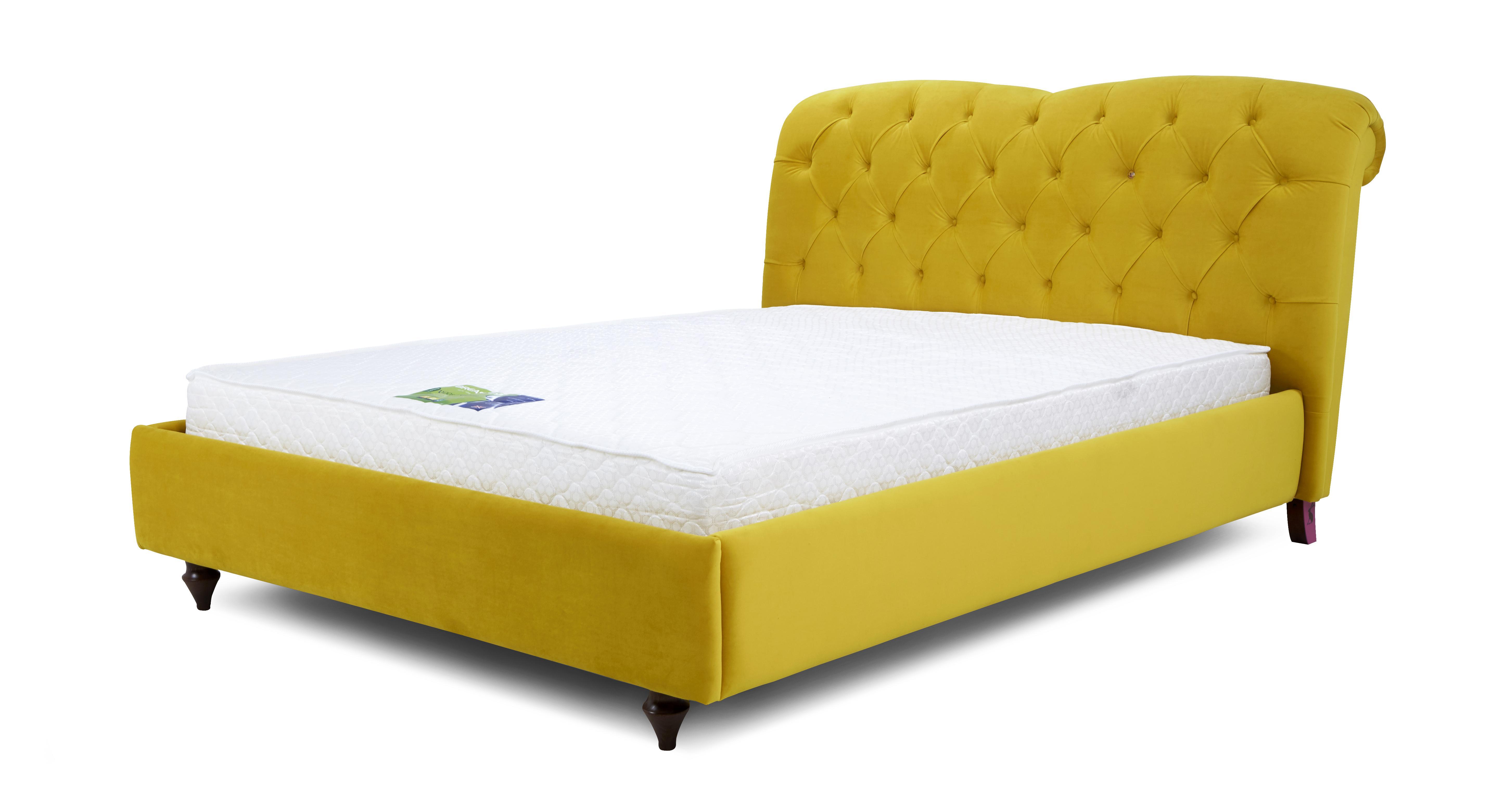 Picture of: Windsor Bed King Bedframe Windsor Velvet Dfs
