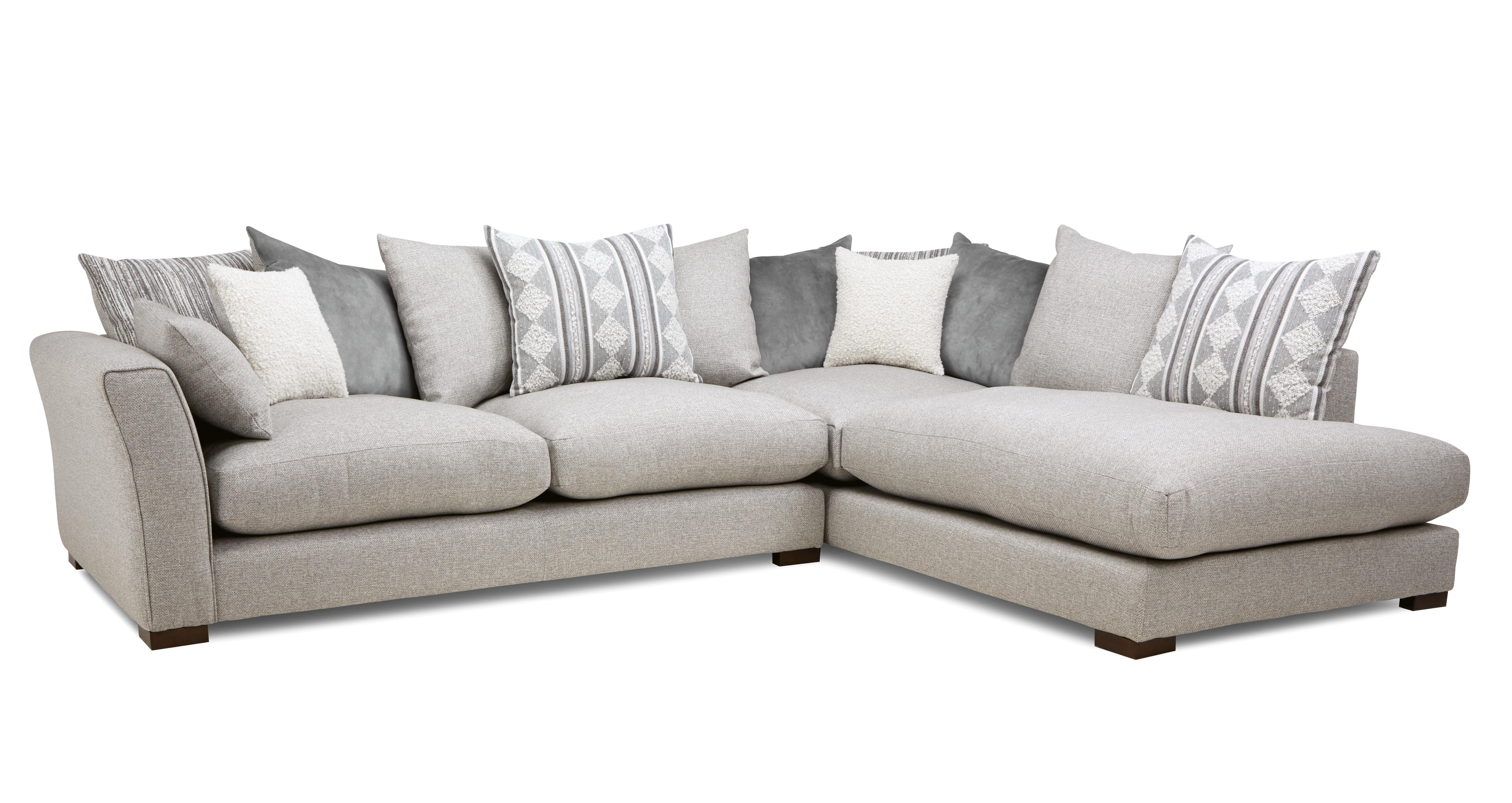 Witton Pillow Back Left Hand Facing Arm Large Corner Group Dfs