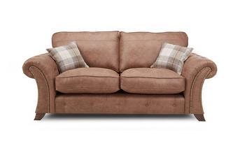 2-zits sofa met vaste rugkussens