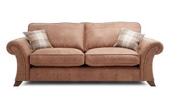 3-zits sofa met vaste rugkussens Oakland
