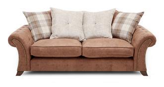 Woodland 3-zits sofa losse rugkussens