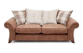 3-zits sofa losse rugkussens Oakland